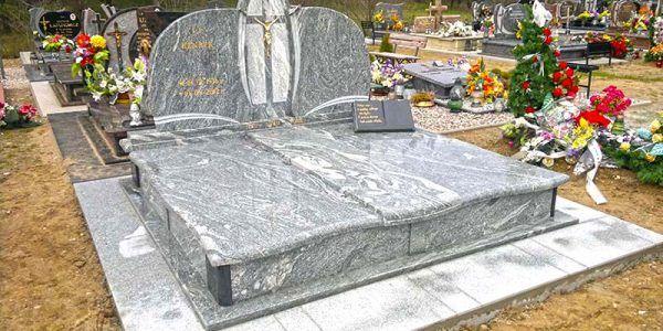 pomnik grób nagrobek z kamienia granitu