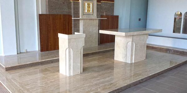 pomniki i ołtarze z granitu