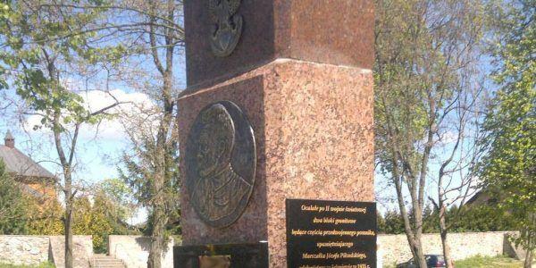 pomniki z kamienia naturalnego granitu